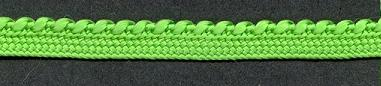 Braid Bright Green, price per mtr