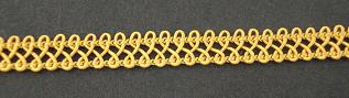 Braid Old Gold; price per mtr