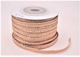Metallic Flat Ribbon 25y; price per Spool