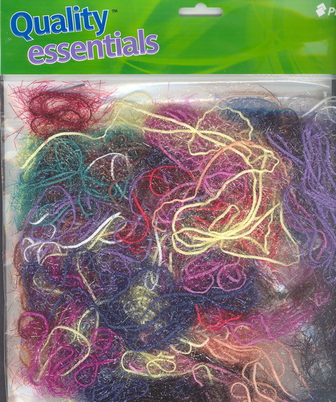 Assorted Colours & lengths of Fairy Fiber