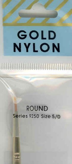 Crafters Choice Gold Nylon Round 5/0