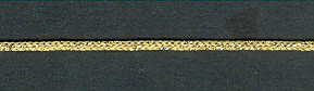 Knit Cord Satinwood/Gold per mtr