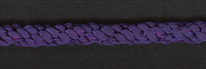 Cushion Cord Natural, Purple, Price per mt