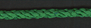 Cushion Cord Natural, Emerald, Price per mt