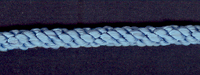 Cushion Cord Natural, Electric Blue, Price per mt