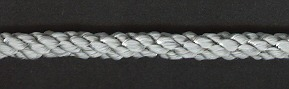 Cushion Cord Natural, Silver Grey, Price per mt