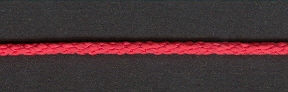 Lacing Cord Scarlet; 4.8m cut length