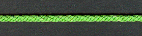 Lacing Cord Leaf Green; price per mtr