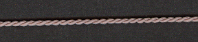 3 Ply Cord Dusty Rose; price per mtr