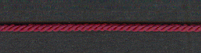 3 Ply Cord Burgundy; price per mtr