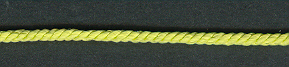 3 Ply Cord Yellow Green; price per mtr