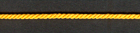 3 Ply Cord Deep Gold; price per mtr