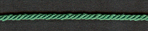 3 Ply Cord Emerald; price per mtr