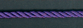 Rayon Cord 5mm Purple; price per mtr