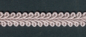 Gimp Braid per mtr; Dusty Rose, price per mtr