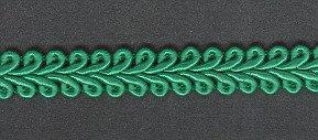 Gimp Braid per mtr; Emerald, price per mtr