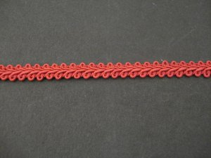 Gimp Braid Claret, price per mt