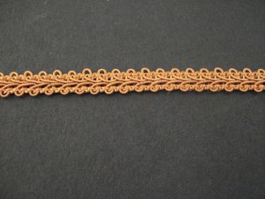 Gimp Braid Rust, price per mt