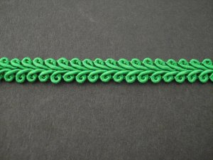 Gimp Braid Emerald, price per mt