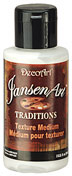 JansenArt Traditions. 3oz. Texture Medium