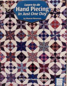 Learn to do Hand Piecing in Just One Day