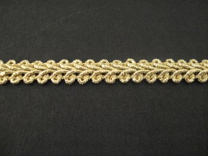 Gimp Braid Gold Lurex, price per mt