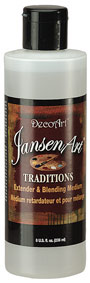 JansenArt Traditions. 8oz. Extender & Blending