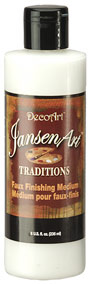 JansenArt Traditions. 8oz. Faux Finishing Med