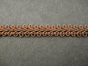 Gimp Braid Brown, price per mt