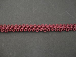 Gimp Braid Wine, price per mt