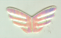 Angel Wings 10 C, White Rainbow 100p