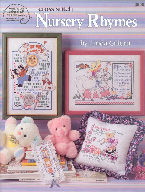 Cross Stitch Nursery Rhymes