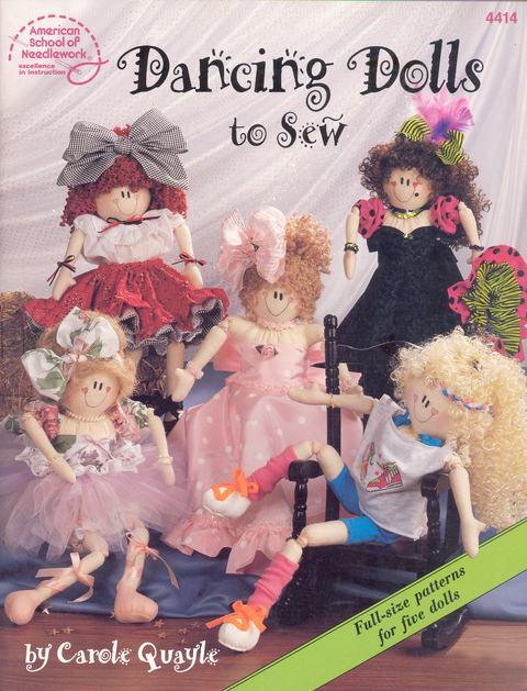 Dancing Dolls to Sew