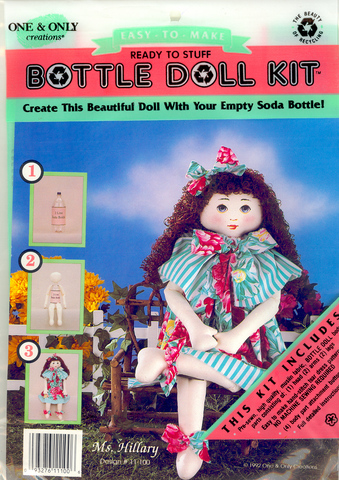 Bottle Doll Miss Hillary