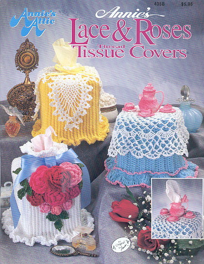 Annie's Lace & Roses Thread Tissue Covers