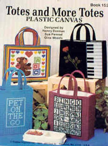 Totes and More Totes: Plastic Canvas