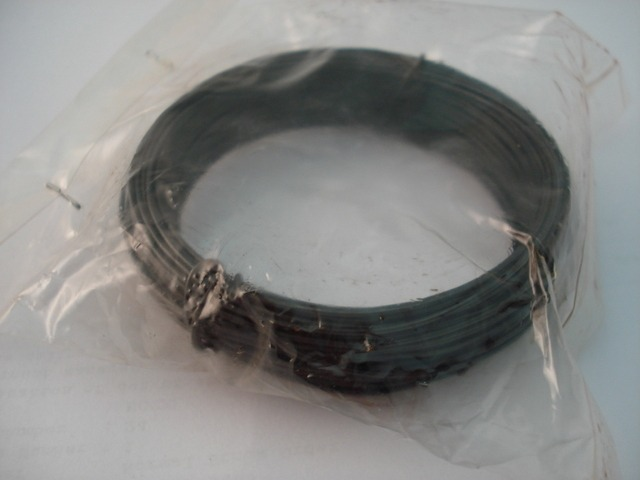 Black Wire 19 gauge 16.6 metre roll