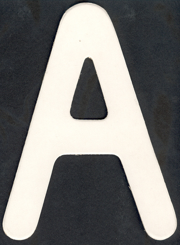 Upper Case Alphabet (A)1 piece