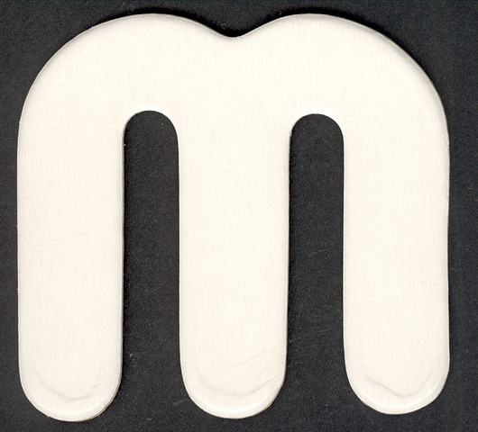 Lower Case Alphabet (m)1 piece
