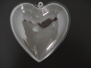 Crystal Heart 100mm 12p, price per each