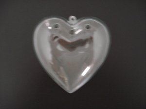 Crystal Pt Pourri Heart 100mm 12p, prices per each