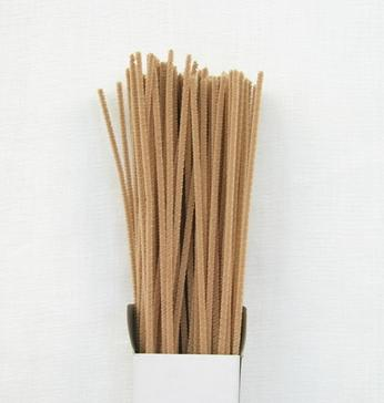 Chenille Sticks 3mm; Beige