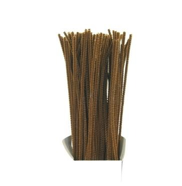 Chenille Sticks 3mm; Brown