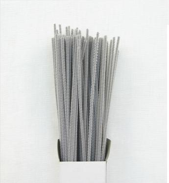 Chenille Sticks 3mm; Grey