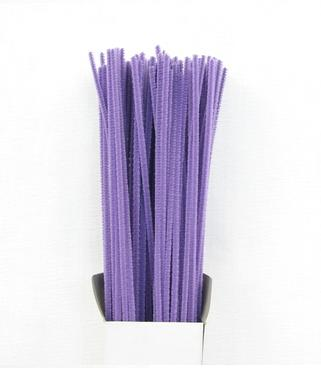 Chenille Sticks 3mm; Lilac