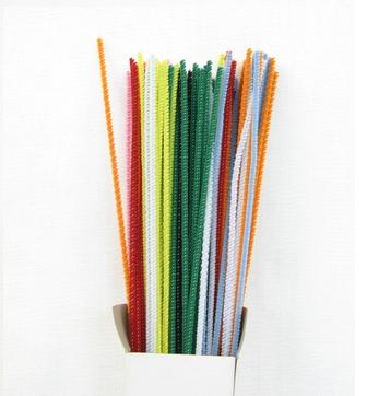 Chenille Sticks 3mm; Multi