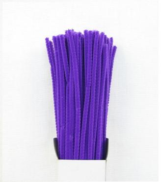 Chenille Sticks 3mm; Purple