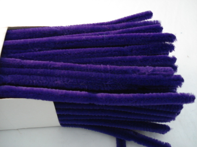 Chenille Sticks 12mm; Purple