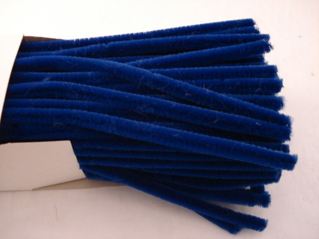Chenille Sticks 12mm; Royal