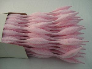 Chenille Bumps 15mm; Light Pink